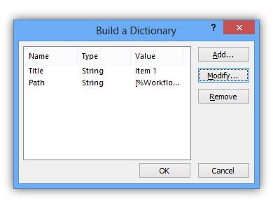 Item in Folder- Data