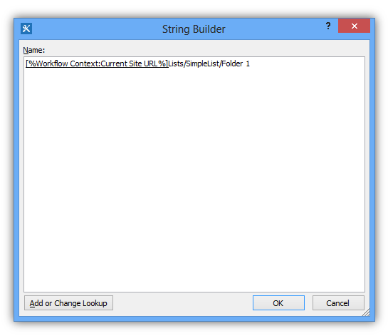 Item in Folder- Path